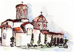 sv naum klosterkirche